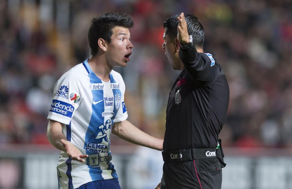 Suspenden a Mauricio Pinilla por insultar y golpear a árbitro 20170121_3...