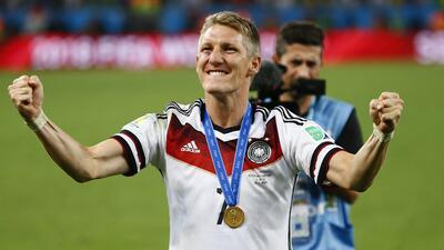 Bastian Schweinsteiger, el astro alemán y su carrera futbolística rica en títulos