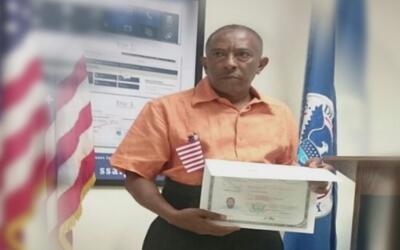 Esta familia tomó la trascendental decisión de solicitar la ciudadanía d...
