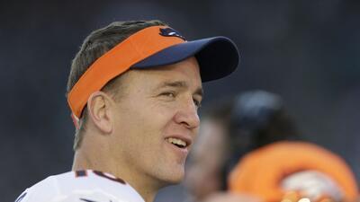 Peyton Manning terminó posiblemente la mejor temporada regular de la his...