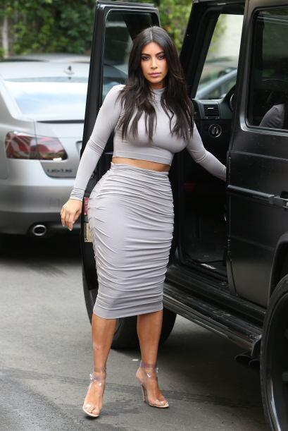 Kim Kardashian salió de compras con sus hermanas.