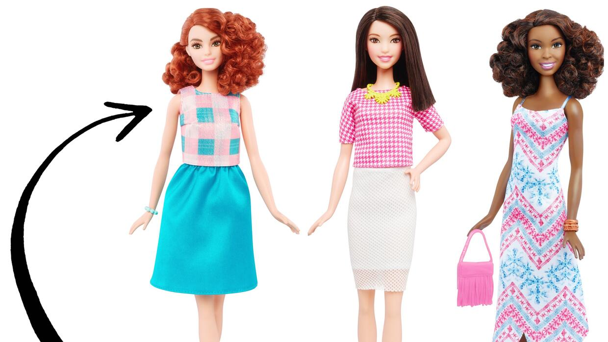 Barbie Fashionistas 2016