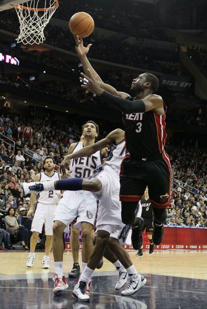 Los 33 puntos de Wade contra los Wizards le dieron el liderato de su equ...