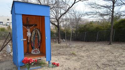Cementerio de inmigrantes mexicanos en Dallas
