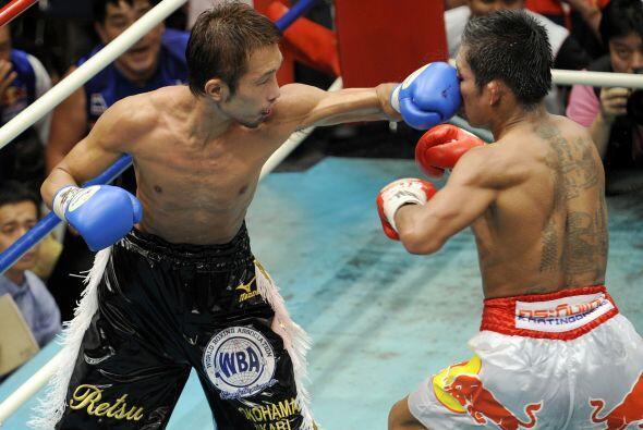 Retsuri fue una presa difícil. Bailó los 12 asaltos por el ring y golpeó...