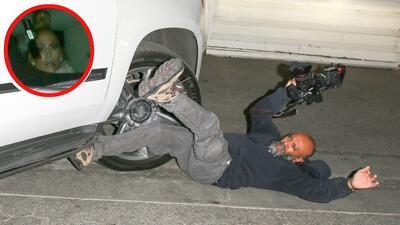 JLo se asustó, pero no se bajó a ver al paparazzo que su chofer atropelló en Los Ángeles