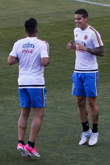 Colombia, el refugio de un James olvidado por el Real Madrid 63632375052...