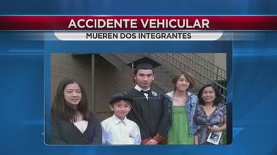 Fallecen dos menores de edad en accidente vial