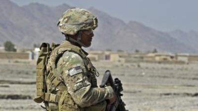 Los soldados extranjeros se retirarían de Afganistán en 2014.