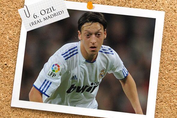 Mesut Özil fue uno de los anotadores madridistas ante el Atlético, pese...