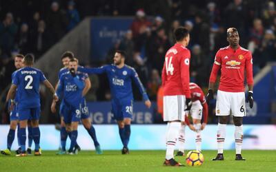 Manchester United empató con el Leicester