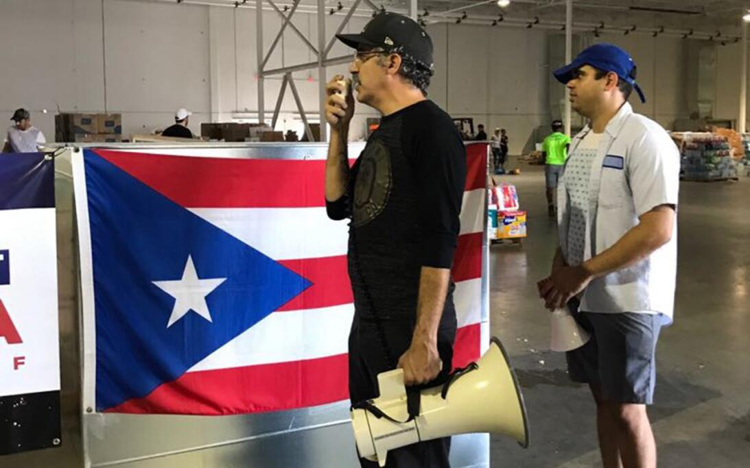 Volunteers collect aid for hurricane-ravaged Puerto Rico ayudaspr2.jpg
