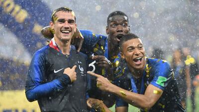 Francia celebró a lo mexicano el título de la Copa del Mundo