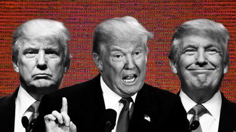 Las caras de Trump
