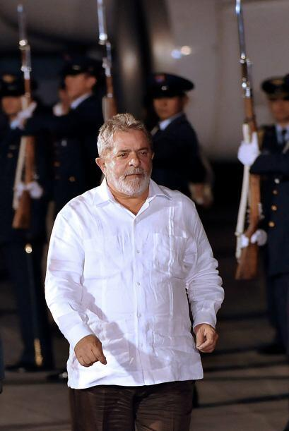 El popular y próximo a dejar el mandato presidente de Brasil, Luiz Ináci...