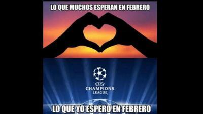 ¿San Valentín o la Champions? Este 14 de febrero llegaron los memes del dilema amoroso