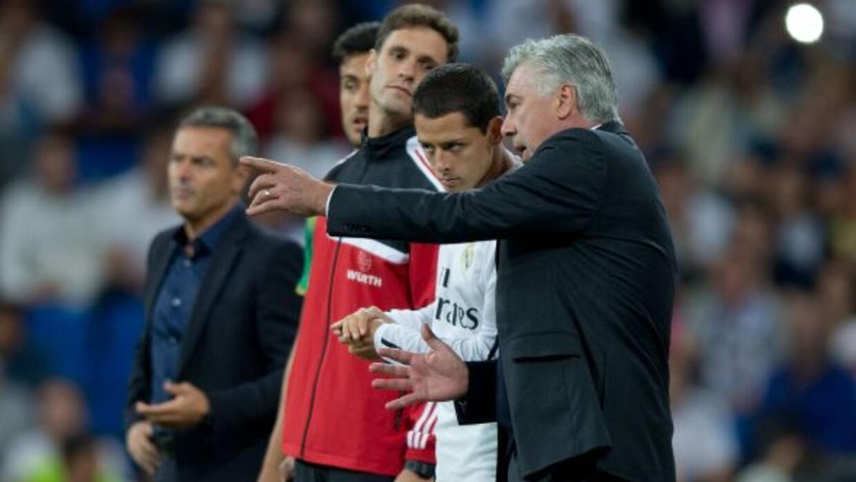 El técnico del Real Madrid no quiso anunciar su alineación ante el Villa...