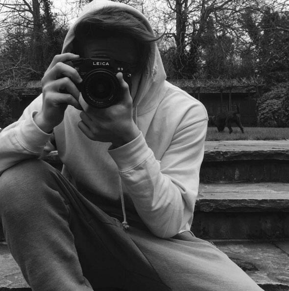Brooklyn Beckham en Instagram