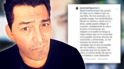 José Manuel Figueroa responde a los fans que lo critican en Instagram