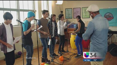 Chicos grabarán videos musicales en La Banda