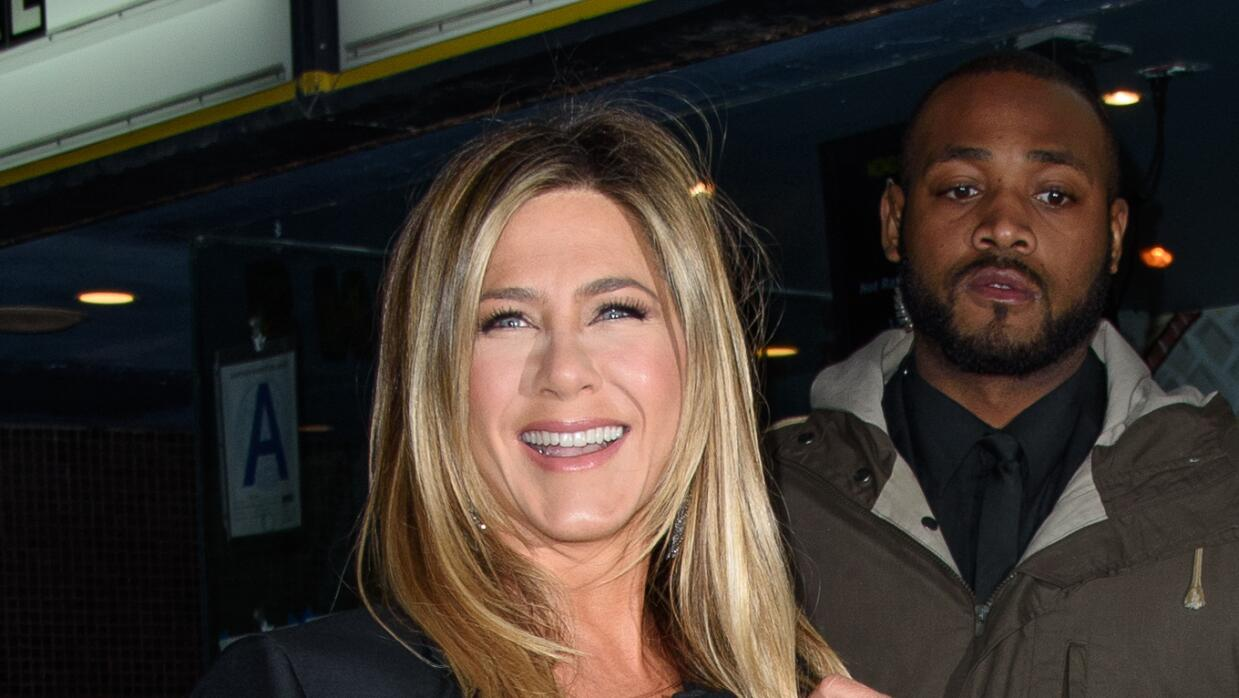 Jennifer Aniston en la premiere de 'Office Christmas Party'