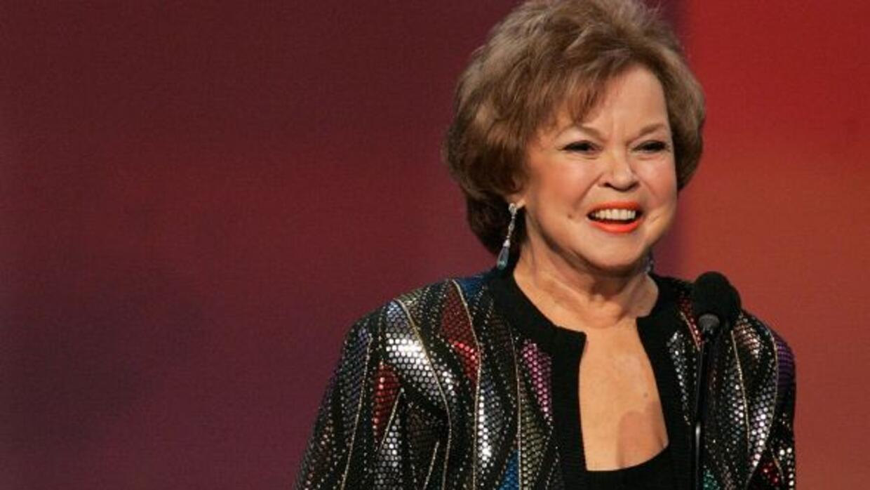 La actriz murió en su hogar a la edad de 85 años.
