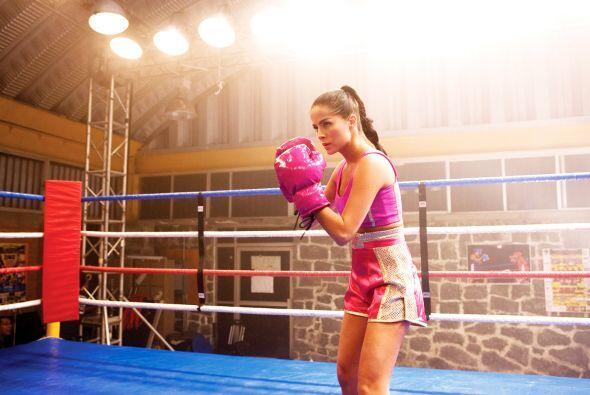 La bella colombiana demostró que el deporte y las telenovelas emb...