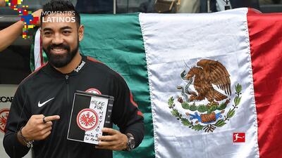 El Eintracht Frankfurt apoya a México por iniciativa de Marco Fabián y Carlos Salcedo
