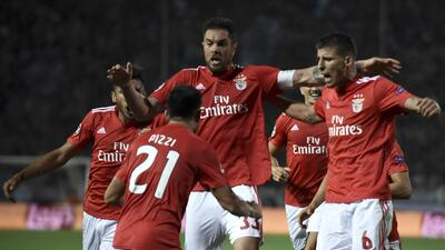 En fotos: Benfica no le falla a la cita de grupos en Champions League con goleada incluida