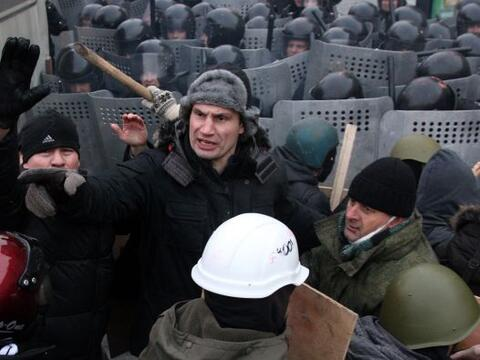 Vitali Klitschko se ha lanzado a la política en Ucrania, pero par...