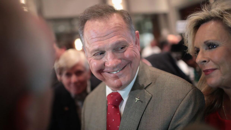 Para muchos observadores, la candidatura de Moore está cuesta arriba tra...