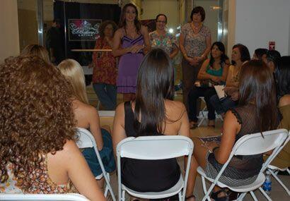 Además de aconsejar a las chicas, Melissa recordó cómo estaba ella cuand...
