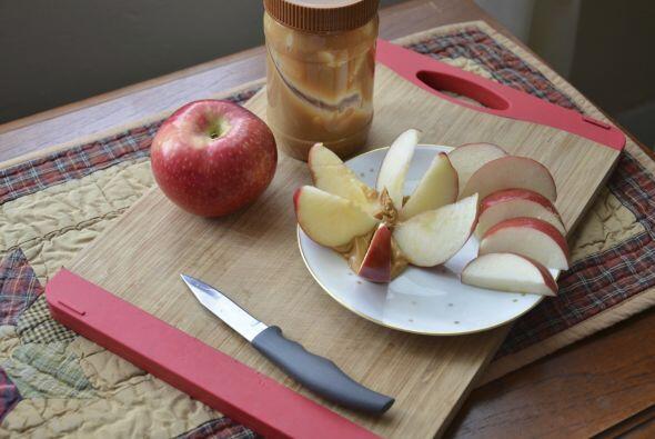 2. Con manzanas achocolatadas Vero también recomienda este suculento sna...