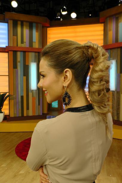 ¿Te atreverías a lucir un peinado tan innovador como el de...