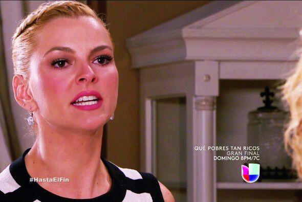 ¡Qué carita Sofía! ¿Quién te hizo enojar tanto? Tranquilízate.
