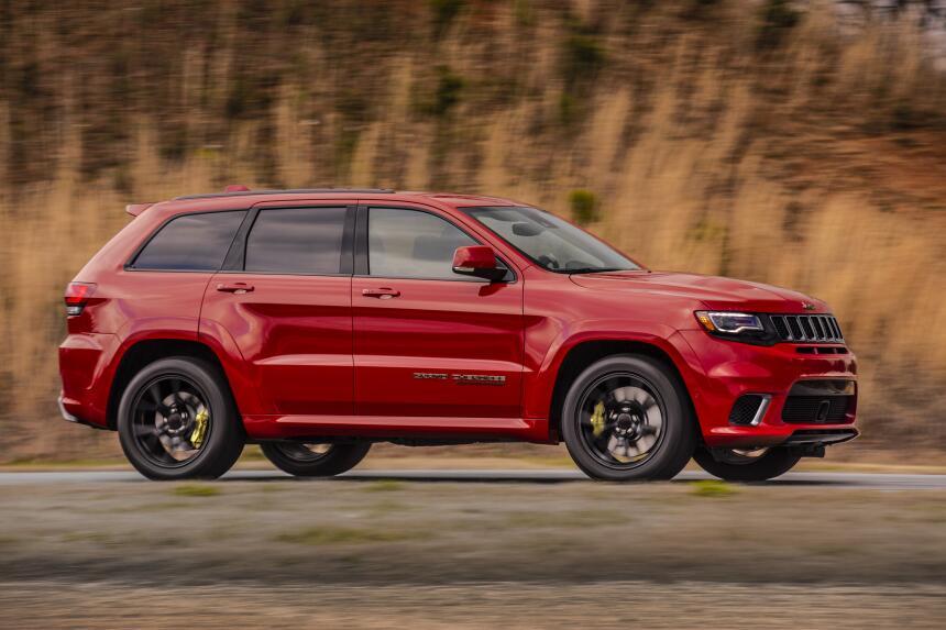 La Jeep Grand Cherokee Trackhawk 2018 es un Hellcat convertido en todote...