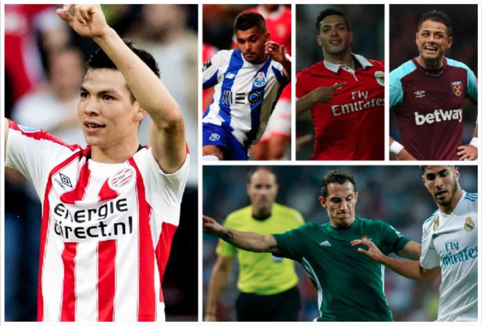 Agenda de puro fútbol para los mexicanos en Europa este fin de semana ca...