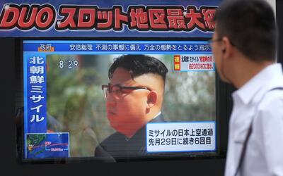 En septiembre de 2017, Corea del Norte hizo una de sus pruebas misil&iac...
