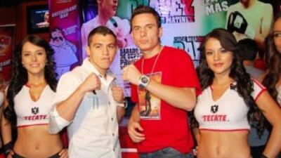 Jorge Páez Jr y Omar Chávez se enfrentarán el 17 de septiembre (Foto: Za...