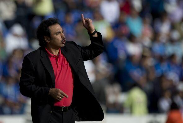 Octubre de 2007, sobre Hugo Sánchez: ''El entrenador (Hugo) no puede dis...
