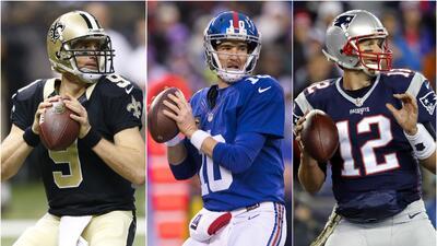 Solo ocho equipos de la NFL cuentan con un quarterback con al menos 10 años de titular