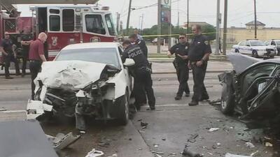 Un menor muere tras un aparatoso accidente entre varios vehículos al norte del condado de Harris