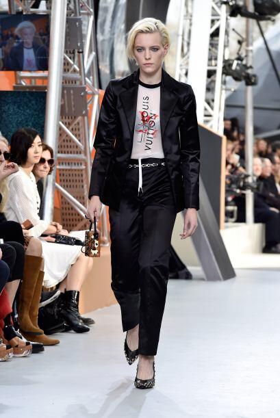 La tendencia marca para los próximos meses el black & white, así como el...