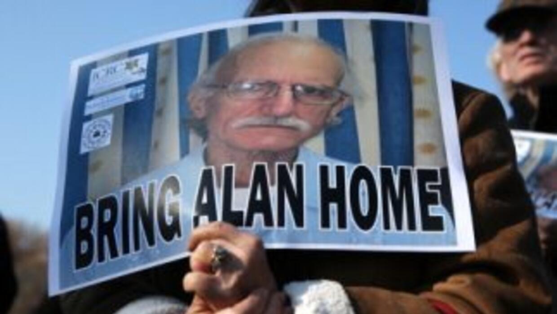 Partidarios de Alan Gross pedían a la Casa Blanca el regreso del estadou...