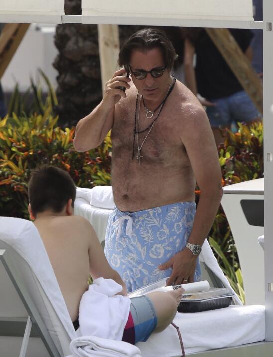 Andy Garcia también tiene 'dad bod'