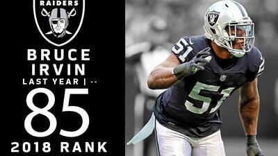 #85 Bruce Irvin (OLB, Raiders) | Top 100 Jugadores NFL 2018