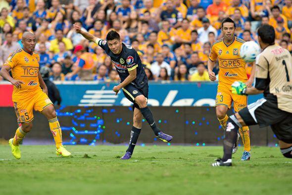 Oribe Peralta, el delantero del América tiene pólvora en sus pies, en el...