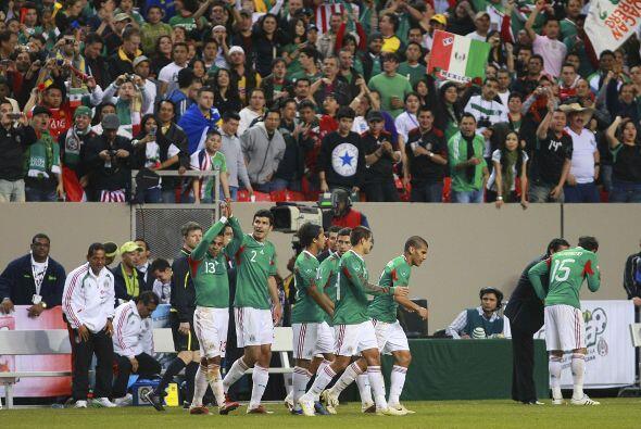 Este partido y este resultado, sirvieron para que la Selección Mexicana...