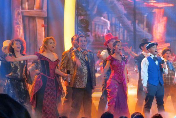 ¡Como todo un musical de Broadway!