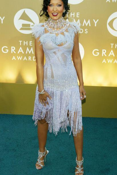 Irreconocible que lució Christina Aguilera por su bronceado -que no cons...